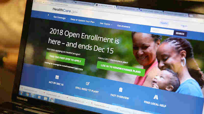 Consumers Hunting For Health Insurance Find High Prices — And Some Great Deals
