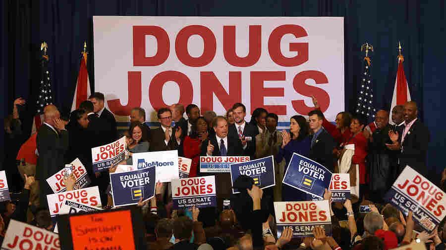 An Upset In Trump Country: Democrat Doug Jones Bests Roy Moore In Alabama