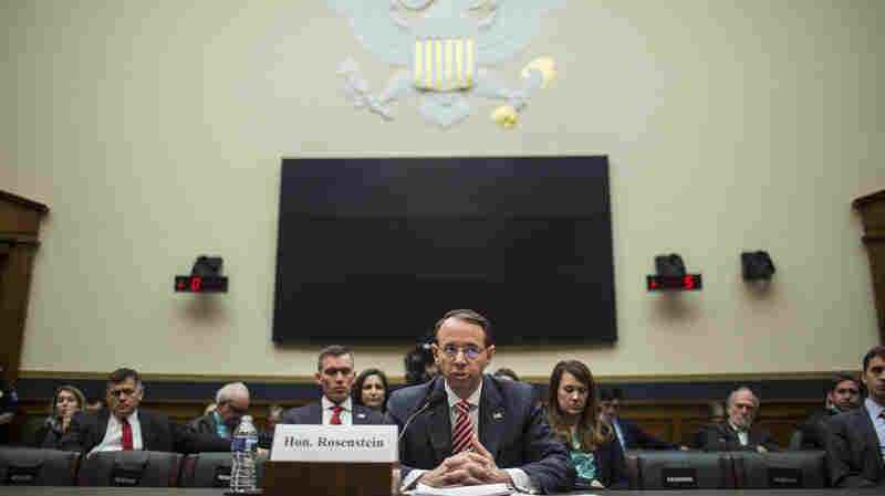 Rosenstein Defends Mueller, Justice Department Amid Attacks About Bias