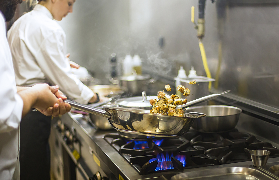 Many people who have worked in kitchens say the restaurant industry's problem goes far beyond high-flying personalities and celebrity chefs. Even when harassment is not sexual, abusive work environments flourish in the industry. (byakkaya/Getty Images/iStockphoto)