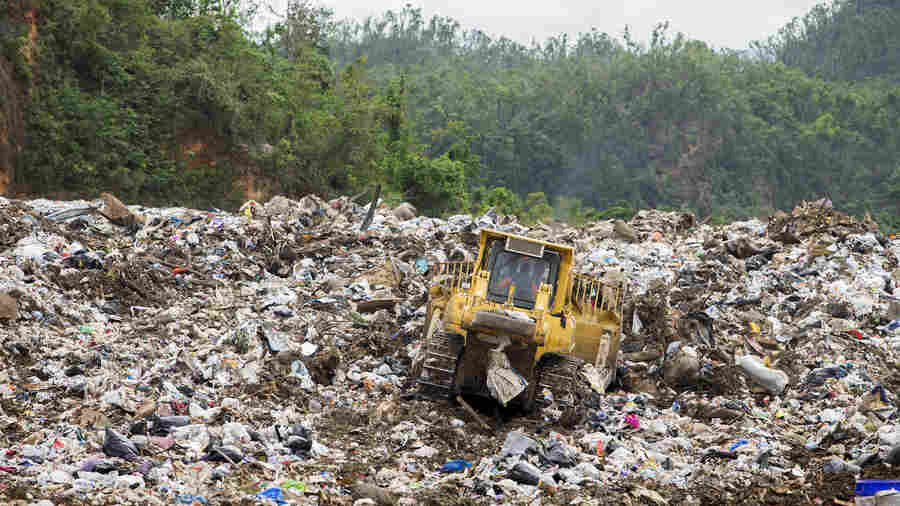 After Maria, Puerto Rico Struggles Under The Weight Of Its Own Garbage