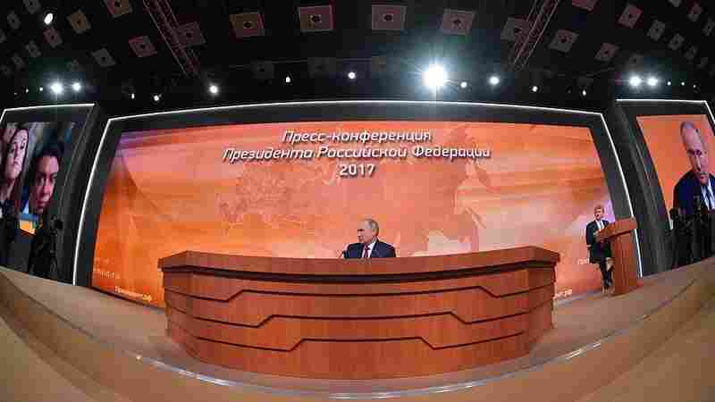 'Why Do You Have This Spy Hysteria?' Putin Asks At Annual News Conference