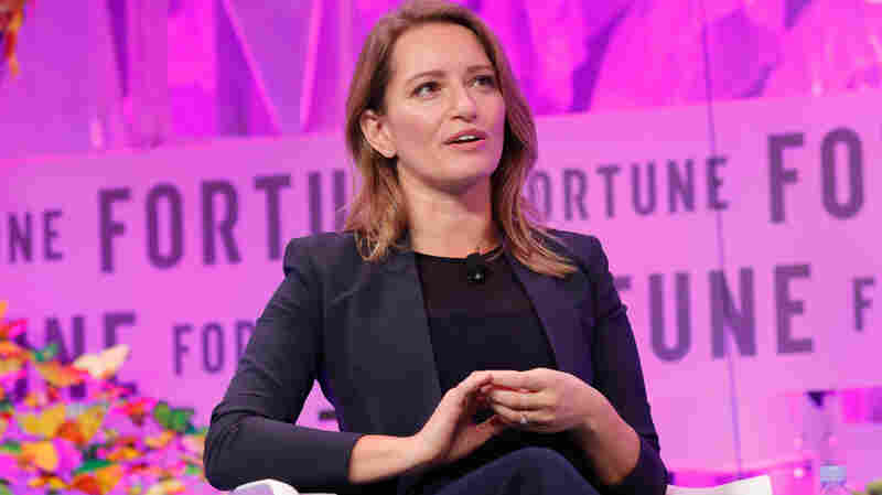 NBC News correspondent Katy Tur speaks onstage at the Fortune Most Powerful Women Summit on Oct. 11, 2017 in Washington, D.C.