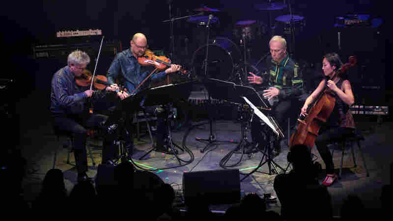 Watch Kronos Quartet's Testament To Collaboration At NPR Music's 10th Anniversary