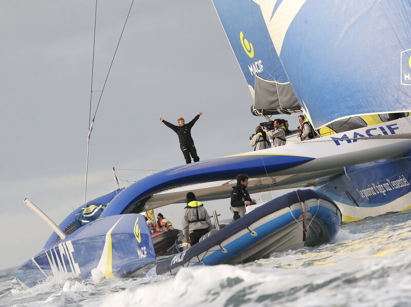 Around The World In 42 Days: Frenchman Sets New Sailing