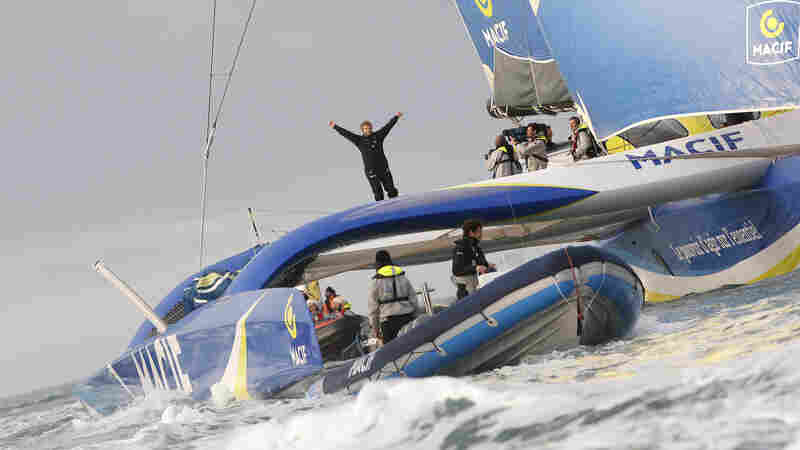 Around The World In 42 Days: Frenchman Sets New Sailing Record