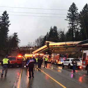 Amtrak Train Derails On Overpass In Washington State, Killing 3