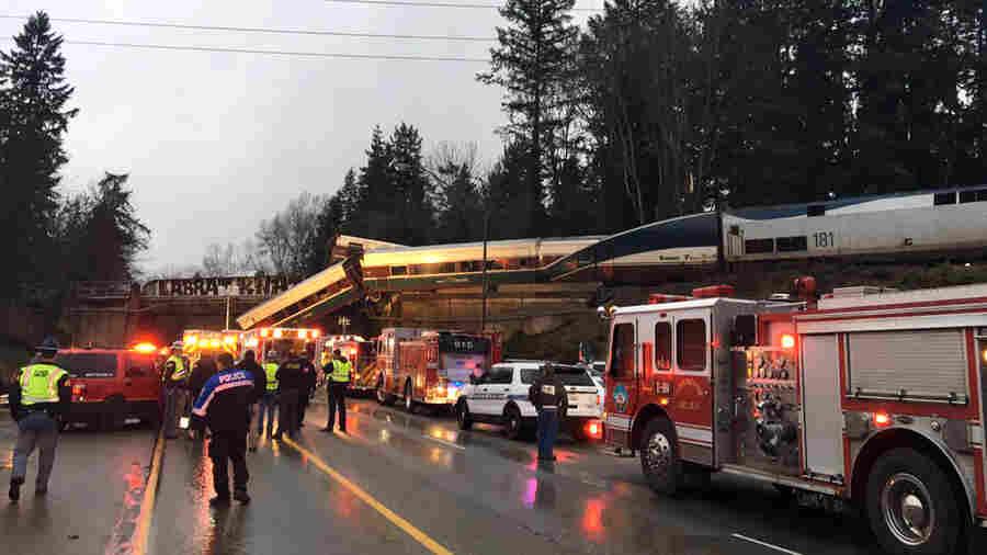 Amtrak Train Derails On Overpass In Washington, Causing 'Multiple Fatalities'