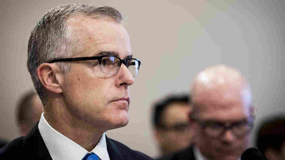 Senior FBI Official McCabe Gets Closed-Door Grilling From House Lawmakers