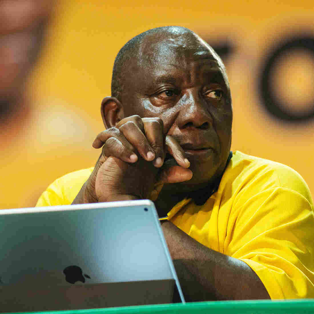 Cyril Ramaphosa elected president of the ANC