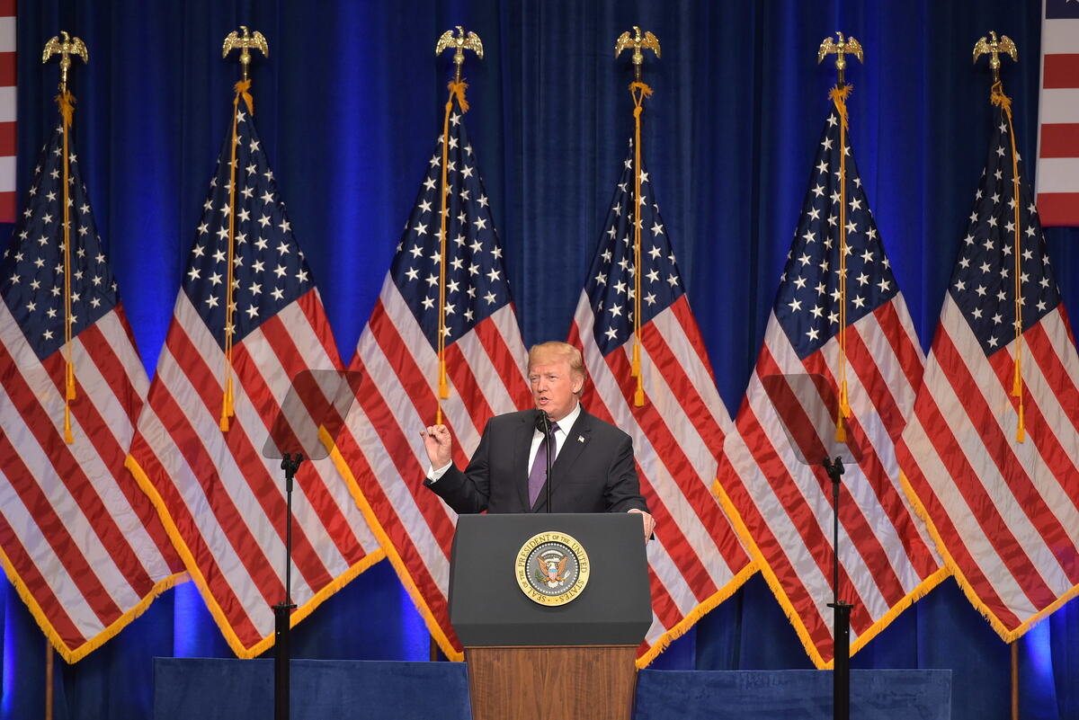 national security outline President donald trump outlined three steps his administration would take to protect the us and internet dubs trump's awkward phone call trump outlines national security plan (full speech.