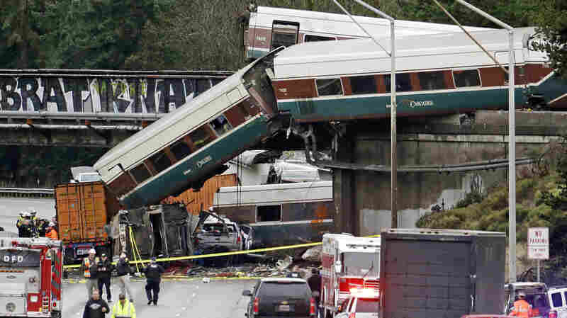 Amtrak Derailment Highlights Delays In Implementing New Safety Measures