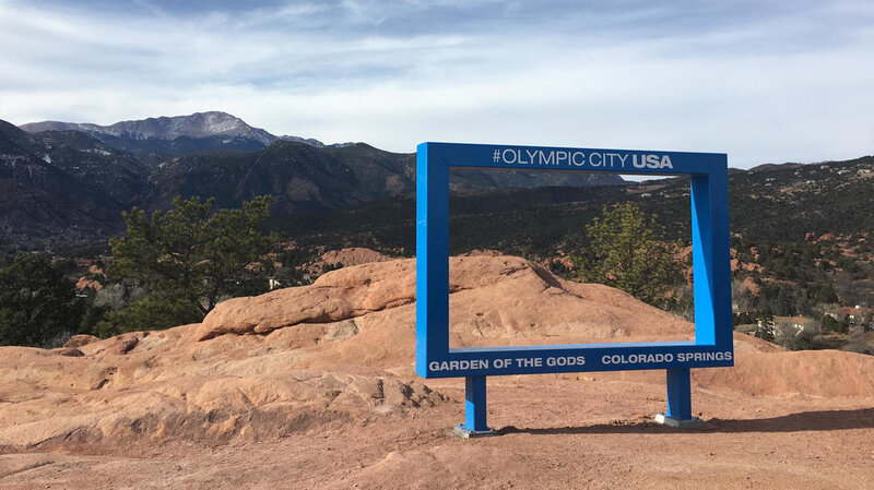 Colorado Springs Puts Up \'Big Blue Frame\' At Park — And Removes It ...