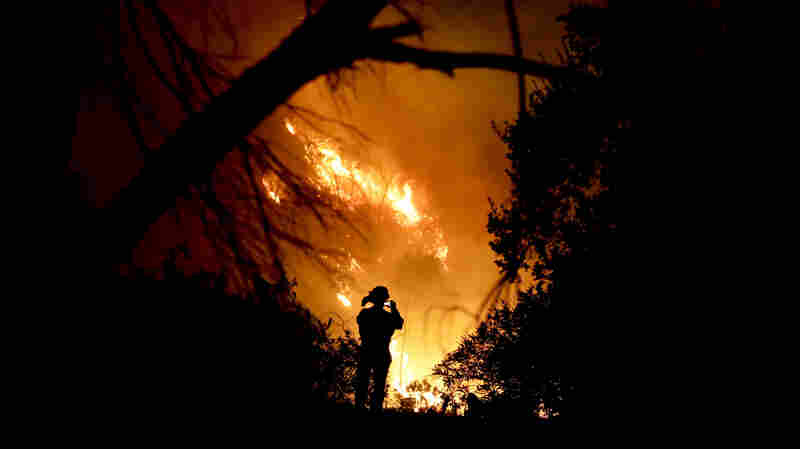 As Winds Rise Once More, Firefighters Fear 'Flare-Up' In Massive Thomas Blaze