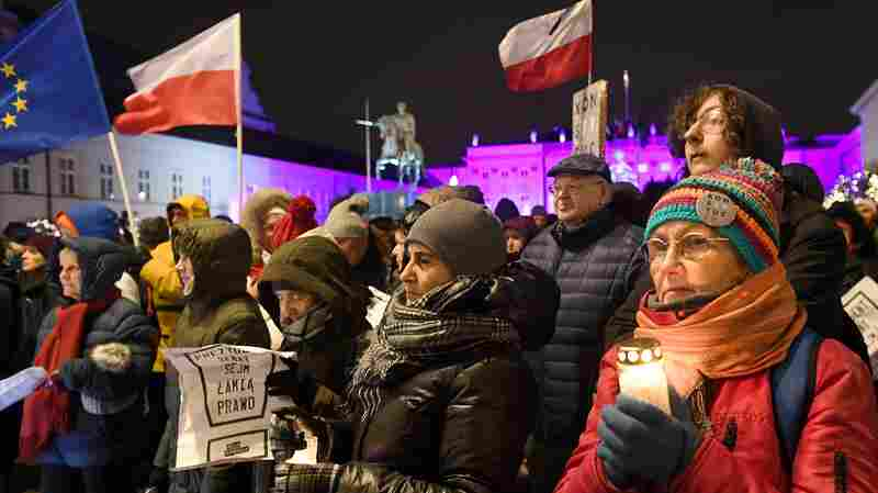 Polish President Signs Controversial Laws As EU Triggers Punishment Clause