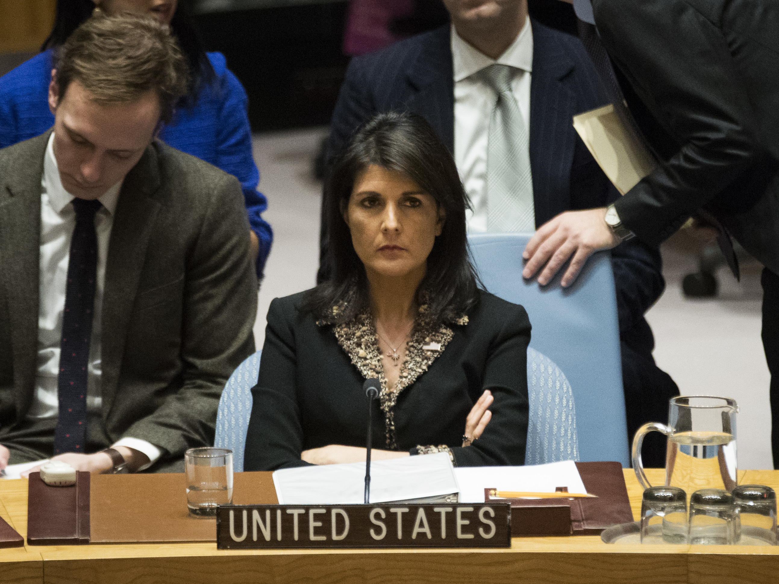 U.S. 'Will Be Taking Names' Of U.N. Votes On Jerusalem Resolution