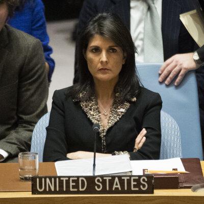 """Les Etats-Unis """"prendront des noms"""" des votes de l'ONU sur la résolution de Jérusalem"""