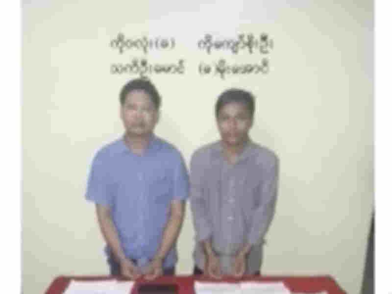 Two Reuters journalists presented in court and now in custody says Myanmar