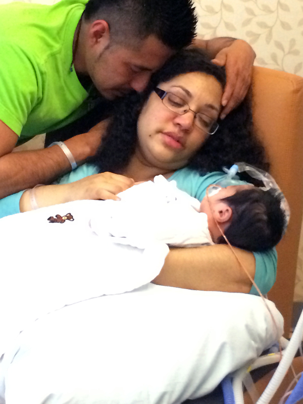 Heather Lavender had a history of troubled pregnancies: several miscarriages and the birth and death of a son at 18 weeks.