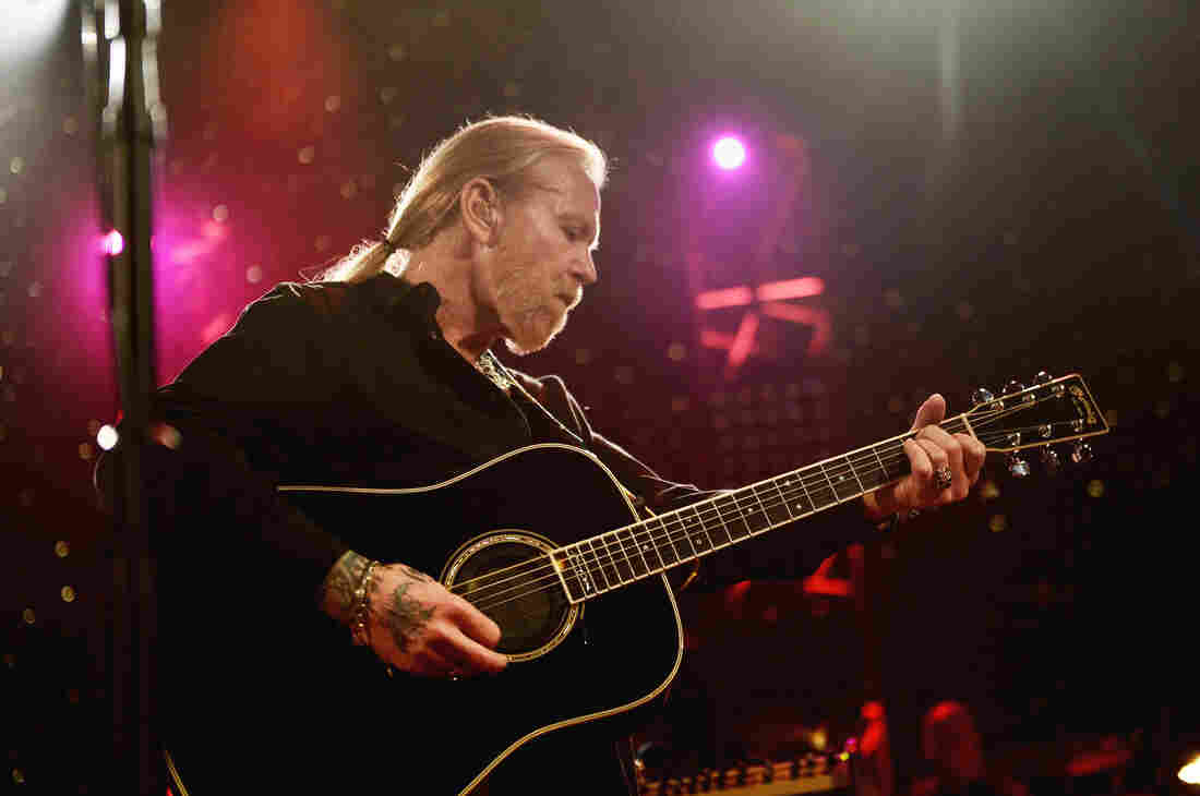 Gregg Allman performs during All My Friends: Celebrating the Songs & Voice of Gregg Allman at The Fox Theatre in 2014 in Atlanta.