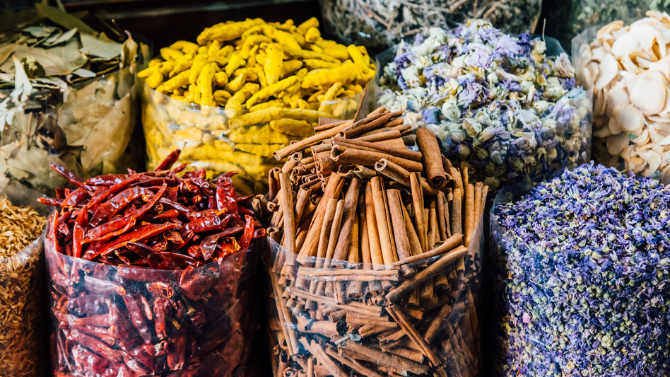 The United States leads the world in spice consumption, but also in spice imports.