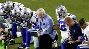 Amid The Anthem Debate, A Dallas Cowboys Fan Gives Tickets Away To Teens And Cops