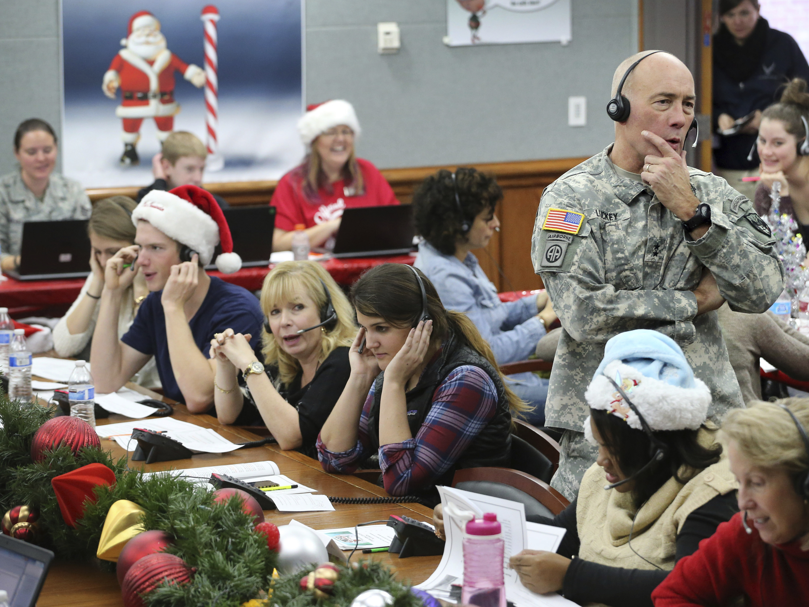 Tracking Santa Tradition Is Serious Fun For NORAD