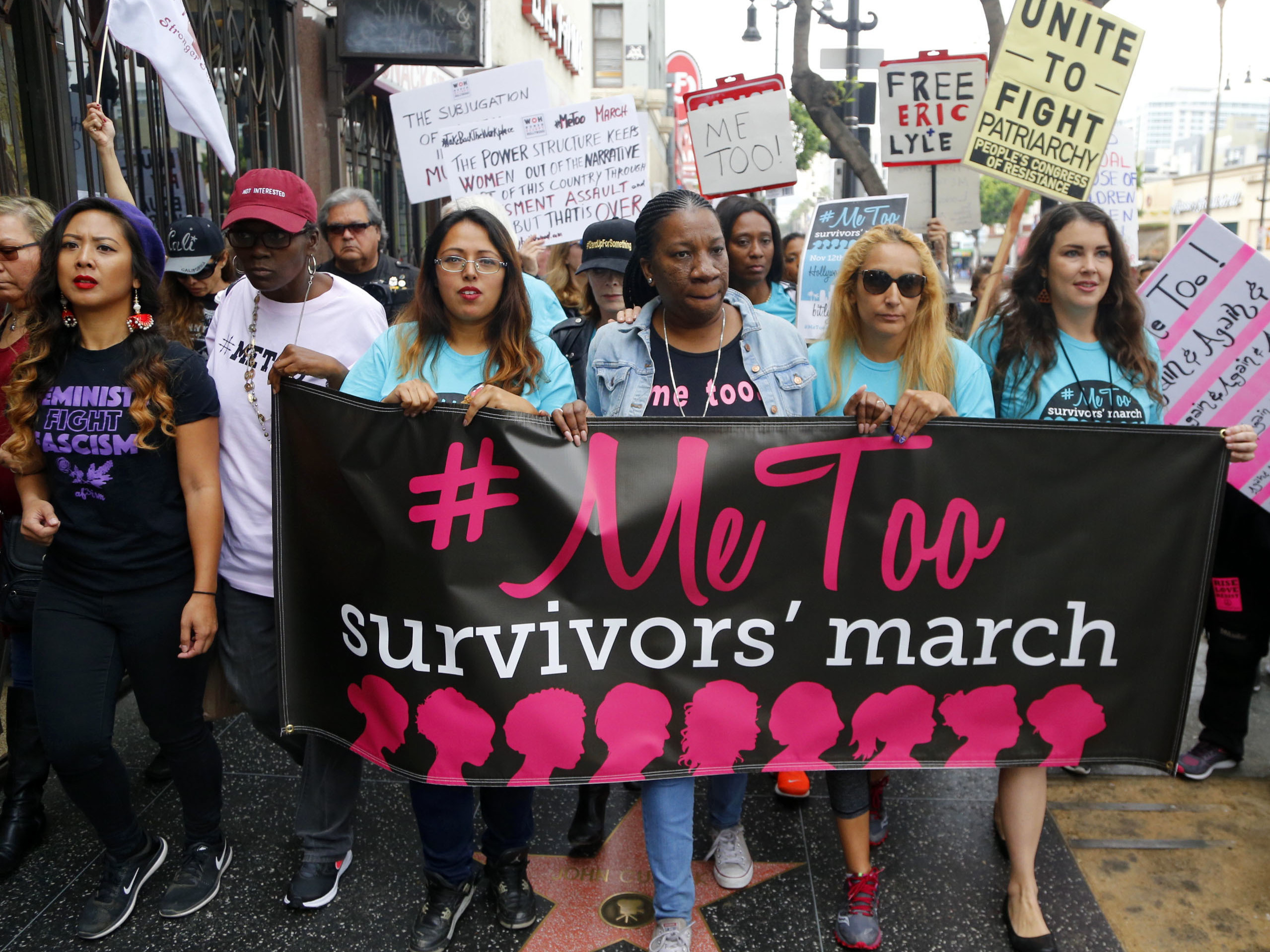 """In the wake of the """"Me Too"""" movement, more victims of sexual harassment and assault continue to come forward."""