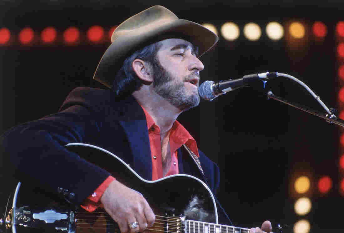 Country singer Don Williams performs in the Country Music Festival at Wembley, London in 1982.