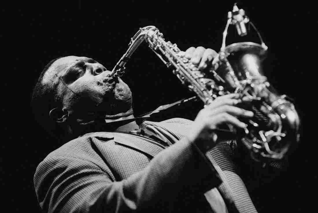 Saxophonist Arthur Blythe performs at the Jazz Marathon in the Oosterpoort in Groningen, Netherlands in 1995.