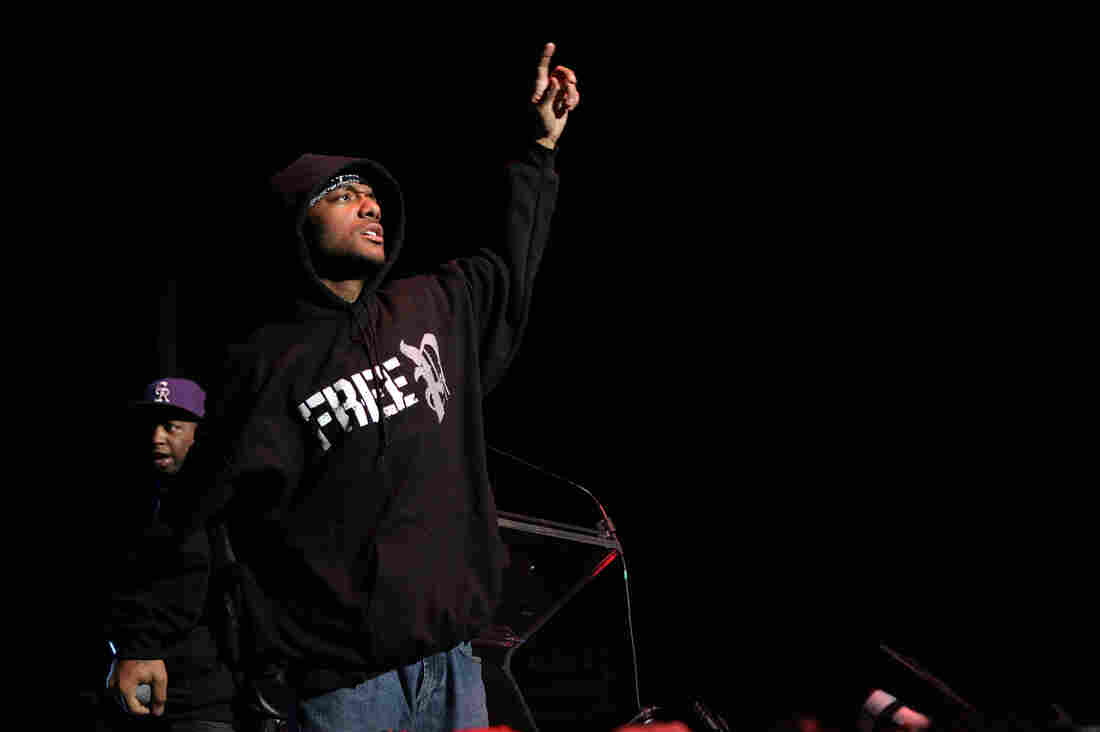 Prodigy of the group Mobb Deep performs onstage at the J.A.M. awards in New York City in 2007.
