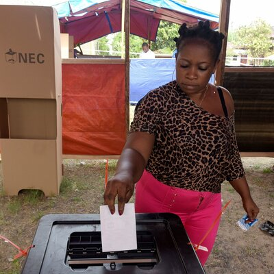 Liberians Vote For Next President, As Ellen Johnson Sirleaf Steps Down