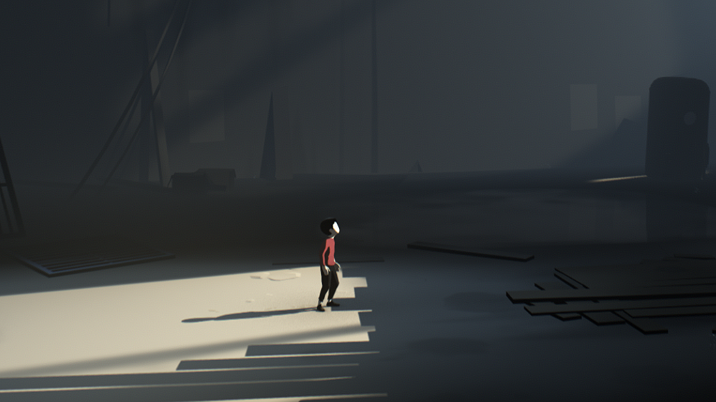 A scene from the game