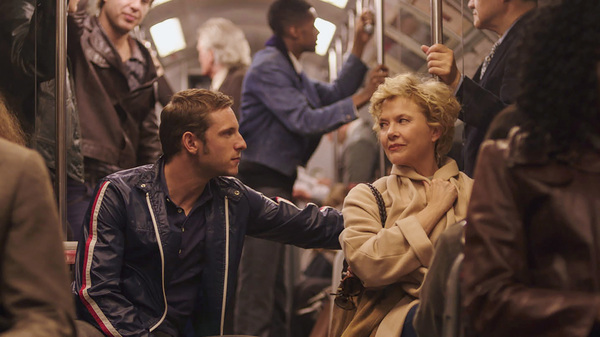 Jamie Bell and Annette Bening in Film Stars Don