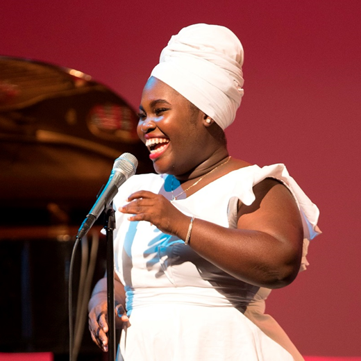 Dayme Arocena at the 2017 San Jose Jazz Summer Fest