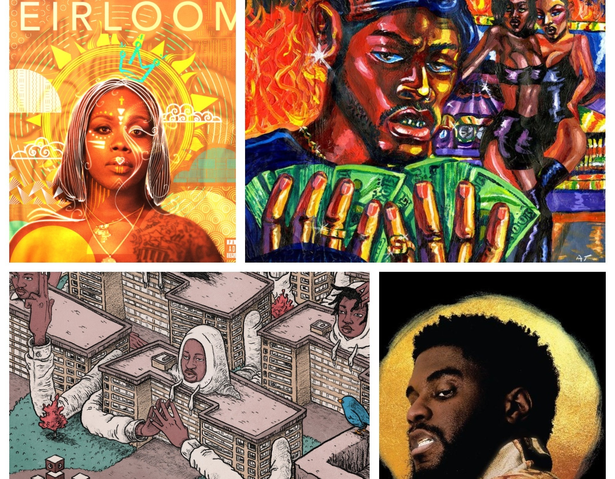 21 Hip-Hop Albums That Reflected The Politics Of Race, Space And Place In 2017