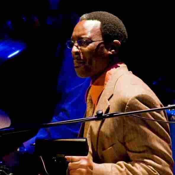 Herlin Riley performs at a Christmas concert on Dec. 8, 2007, at Jazz at Lincoln Center.