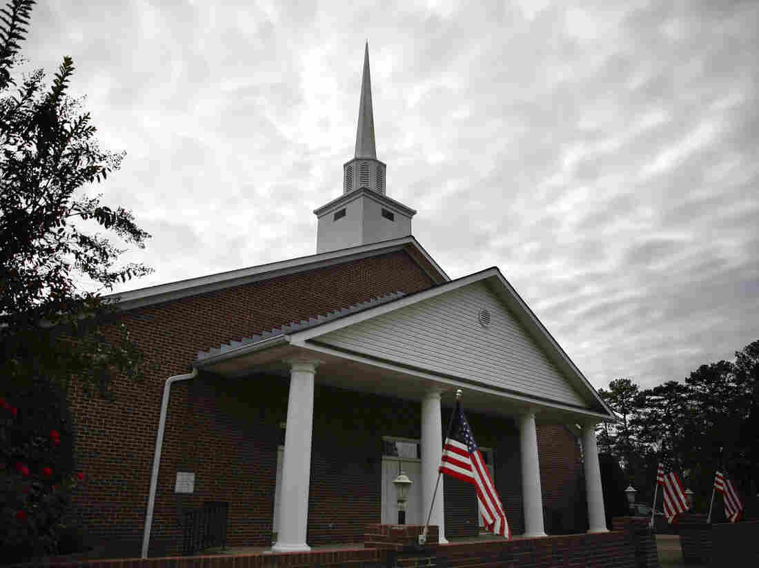 First Baptist Church of Gallant, in Gallant, Ala., the home church of former Alabama Senate candidate Roy Moore.