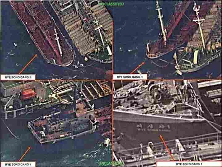 South Korea seizes ship suspected of transferring oil to North Korea