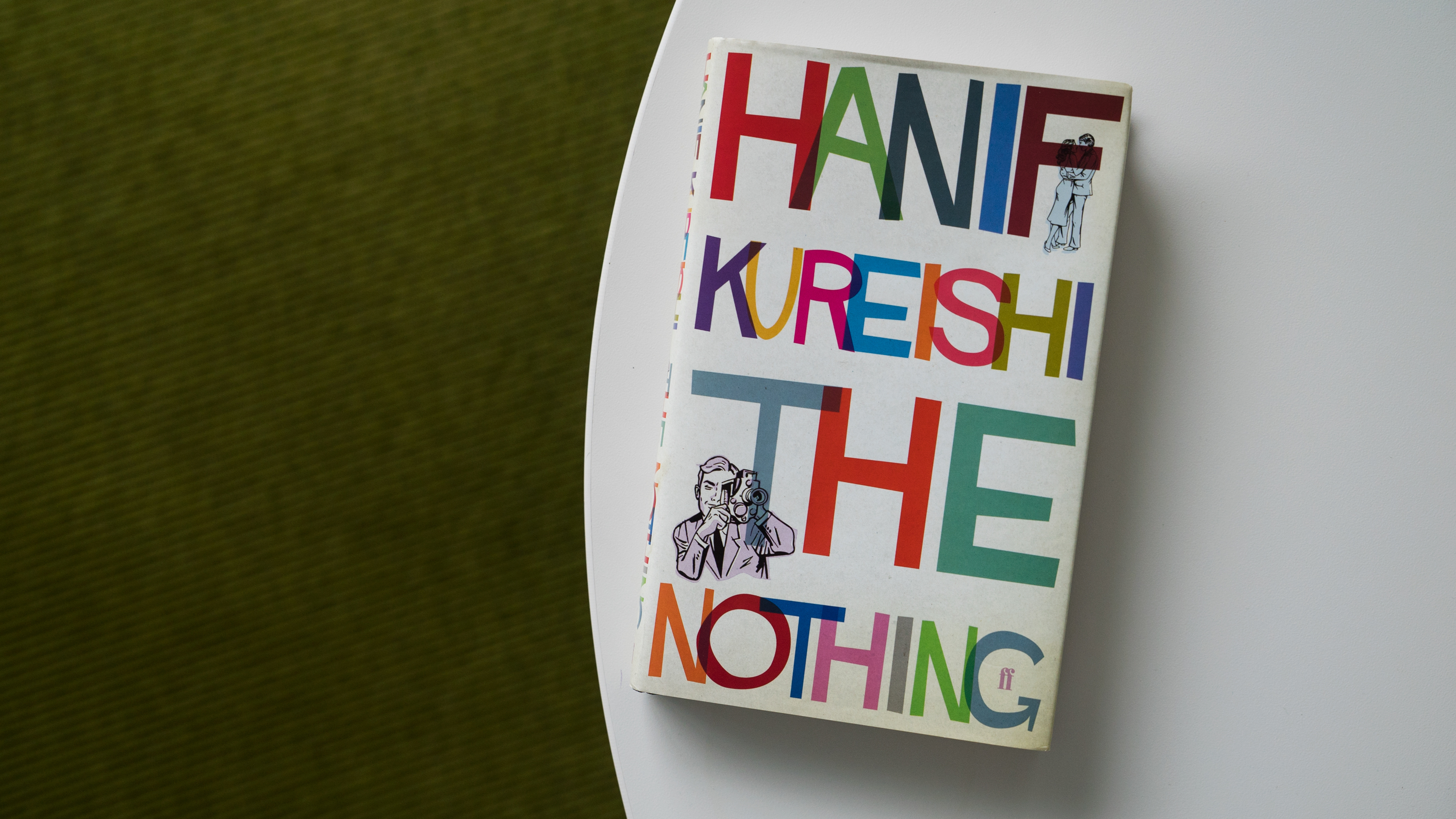 the cover of Hanif Kureishi's The Nothing