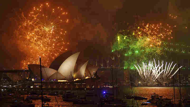 New Year's Celebrations Kick Off Across The Globe