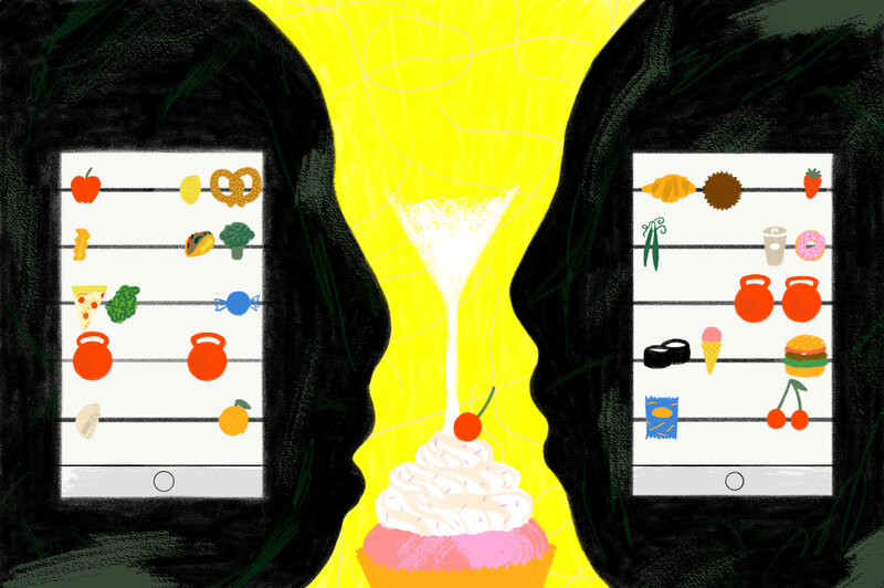we gave weight loss using food tracking apps a try the salt npr