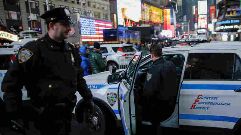 Tightest Security In Years At New Year's Celebrations In New York And Las Vegas