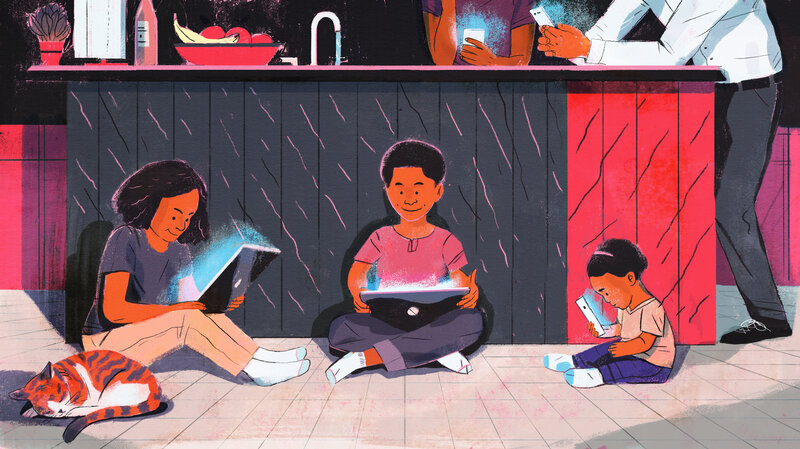 Heavy Screen Time Rewires Young Brains >> 5 Things To Know About Screen Time Right Now Npr Ed Npr