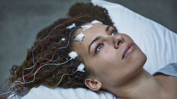Disbelieved by doctors, Jennifer Brea turns the camera on herself to reveal the hidden world of ME, or chronic fatigue syndrome, in her film, Unrest.