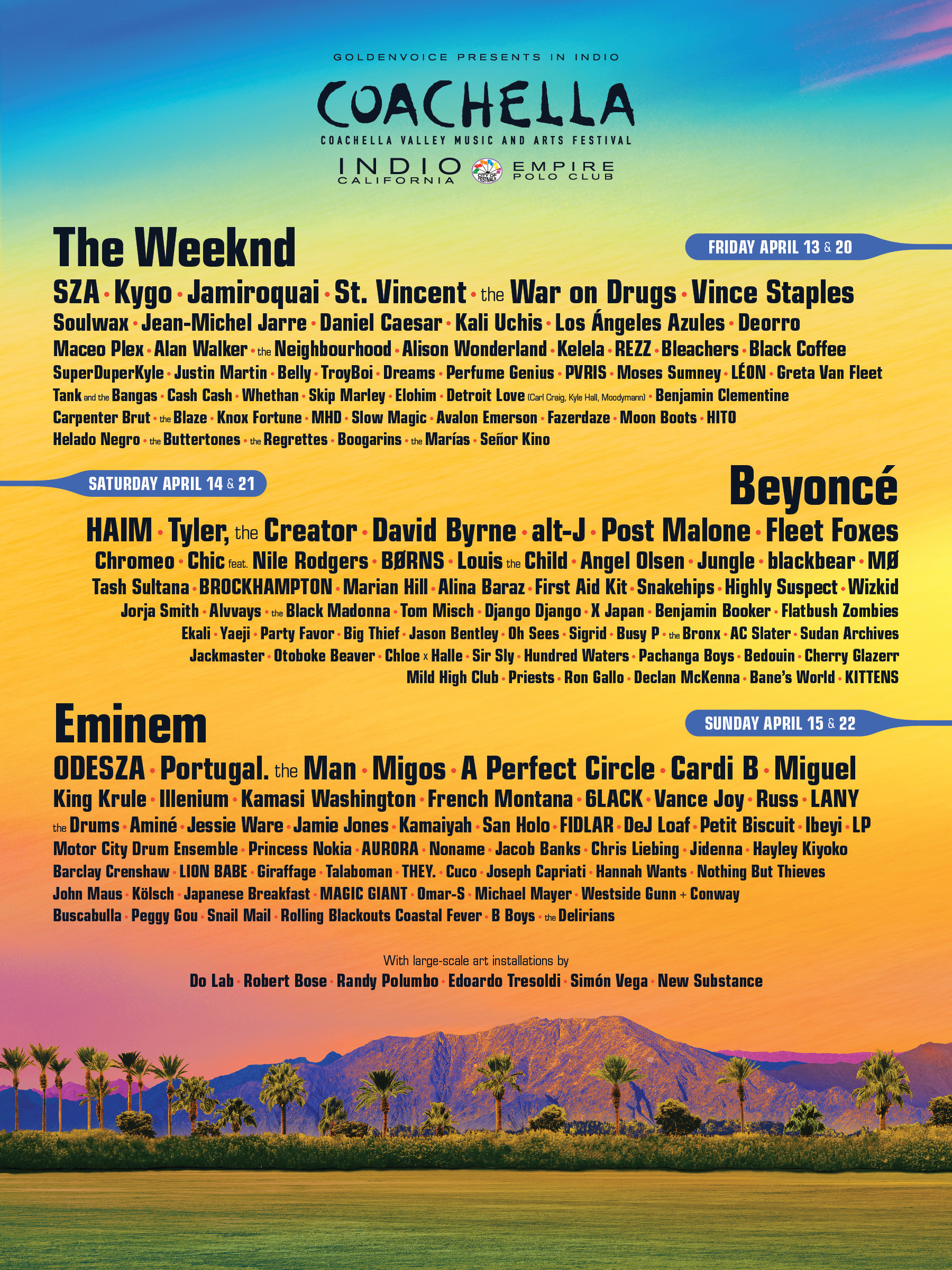Coachella Lineup May Point To A Shifting Middle