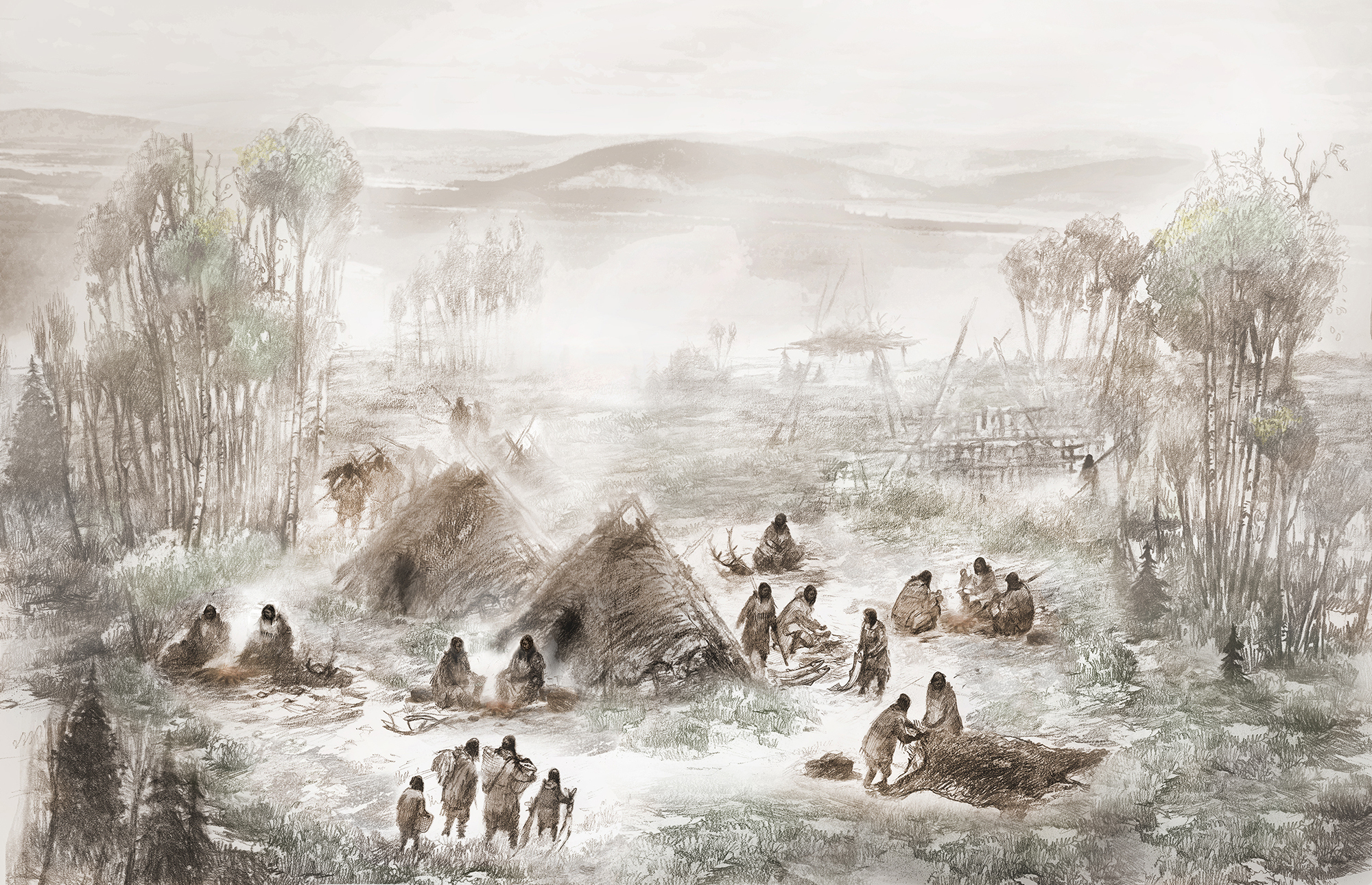 Ancient Human Remains Document Migration From Asia To America