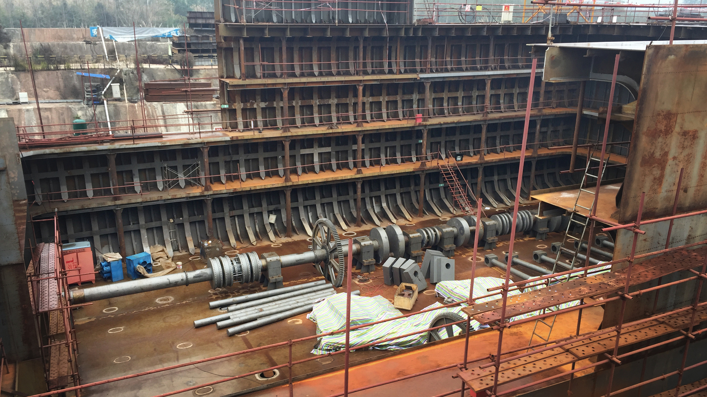 A Life Size Replica Of The Titanic Is Under Construction In Chinas