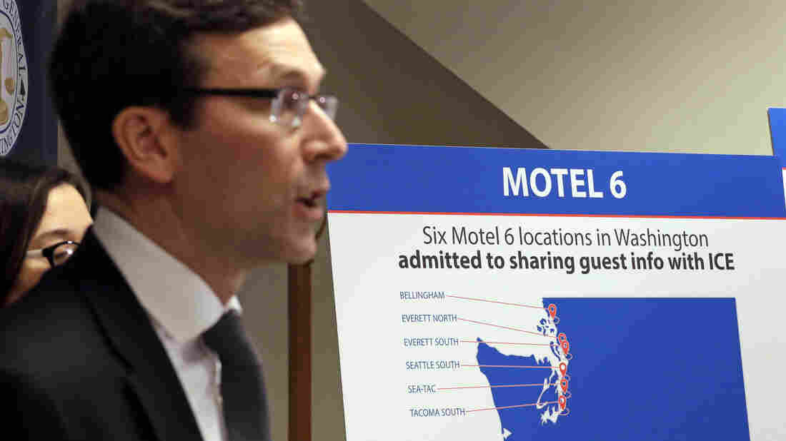 Washington State sues Motel 6 over collusion with ICE
