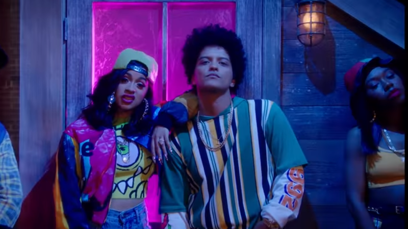 Bruno Mars And Cardi B 'Finesse' The Remix With 'In Living Color'-Inspired Video